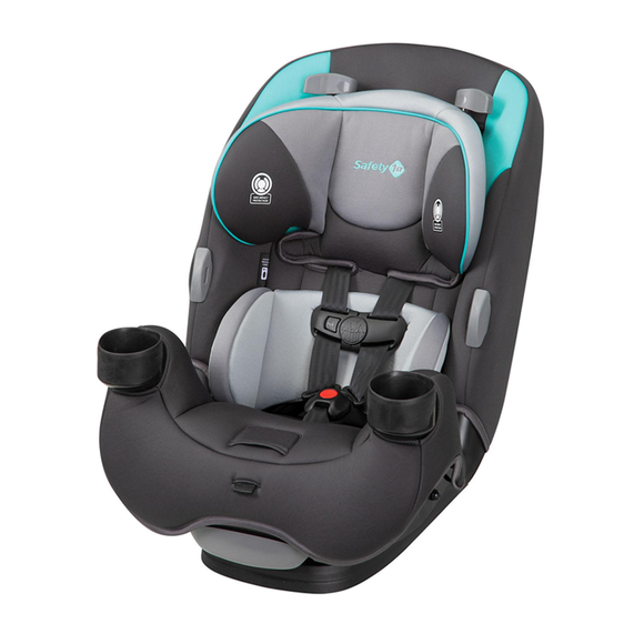 Safety 1st EverFit 3-in-1 Convertible Car Seat, Teal