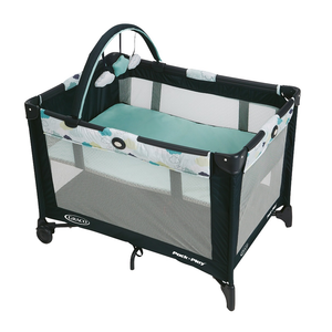 Graco Pack 'n Play On the Go Playard with Bassinet, Stratus