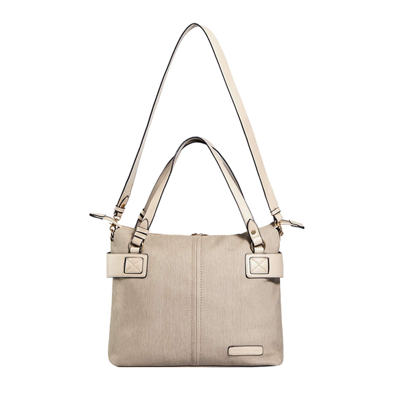 SoHo Lansing Vegan Leather Tote Diaper Bag