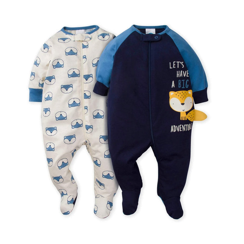 Gerber Boys 2-pk Sleep & Play set, Fox