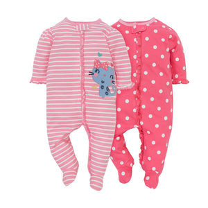 Gerber Girls 2-pk Sleep & Play set, Happy