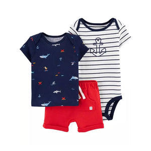 Carter's Boys 3-pc Casual set, Anchor