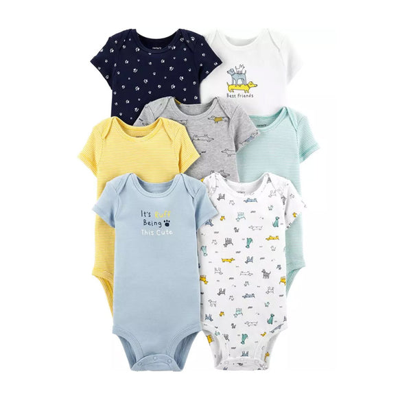 Carter's Boys 7-pk Bodysuit set, Best Friends