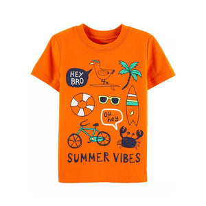 Carter's Boys Casual T-shirt, Summer Vibes