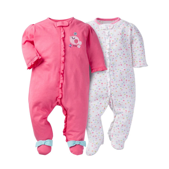 Gerber Girls 2-pk Sleep & Play set, Little Birdie