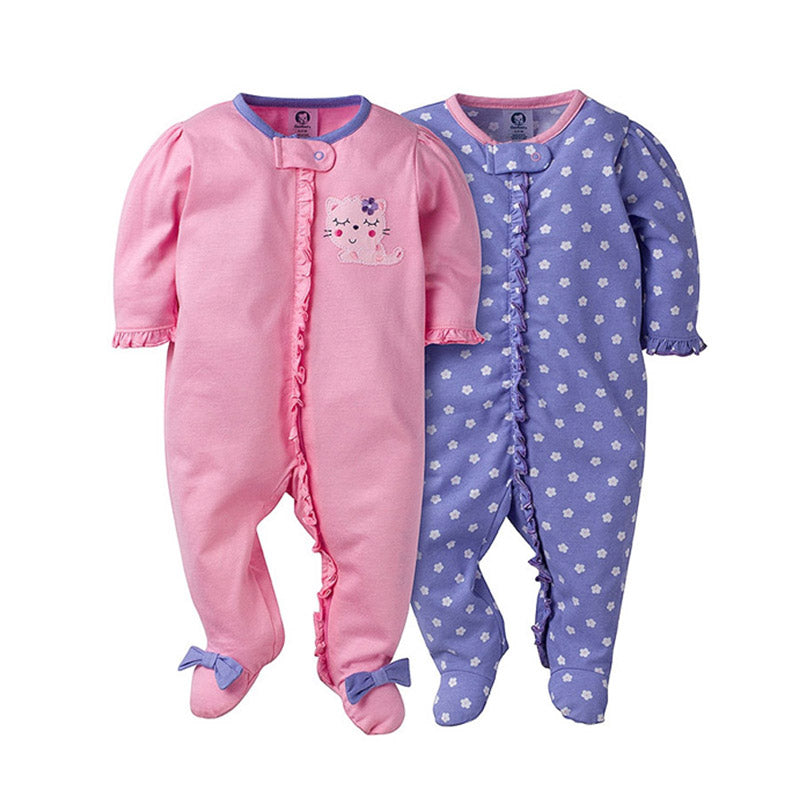 Gerber Girls 2-pk Sleep & Play set, Kitty