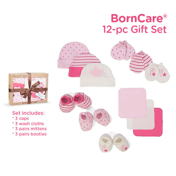 BornCare Girls 12-pc Gift Set