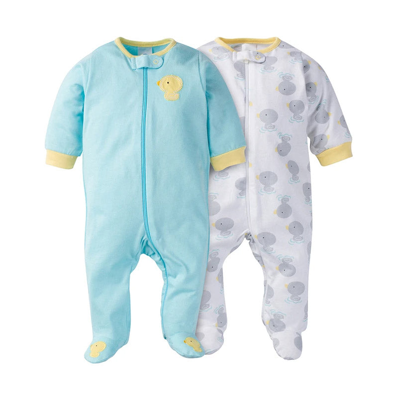Gerber Unisex 2-pk Sleep & Play set, Duckies