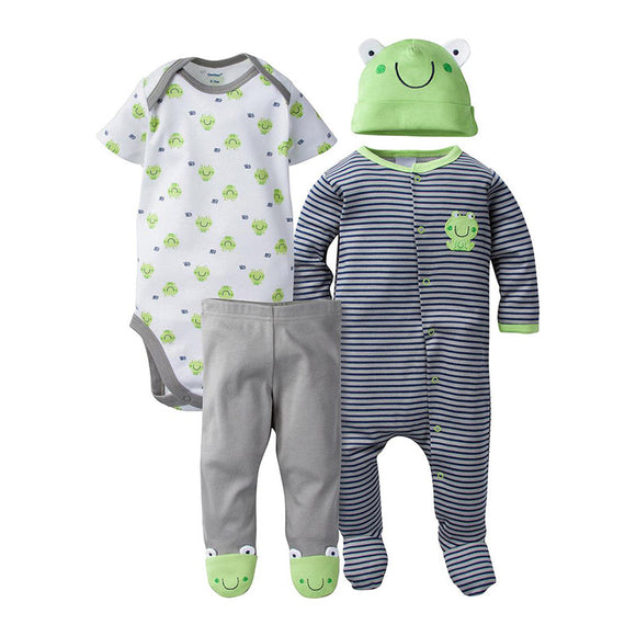 Gerber Boys 4-pc Essentials set, Froggie