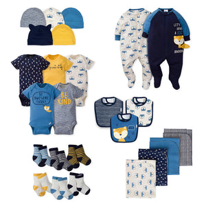 "Gerber Boys 25-pc ""Starter Pack"" Value Bundle, Fox"