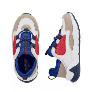 OshKosh Boys Sneakers, Red/ Blue/ Beige