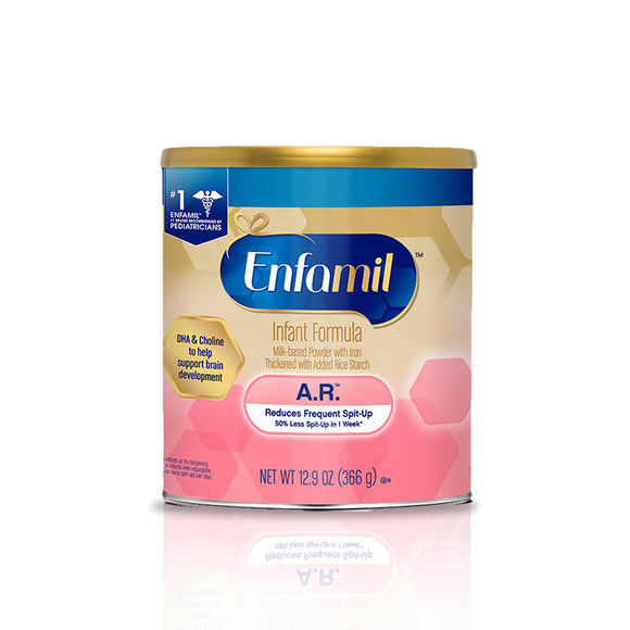 Enfamil A.R. Infant Formula Powder (0-12 months), Assorted Sizes