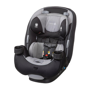 Safety 1st EverFit 3-in-1 Convertible Car Seat,  Light Grey / Black