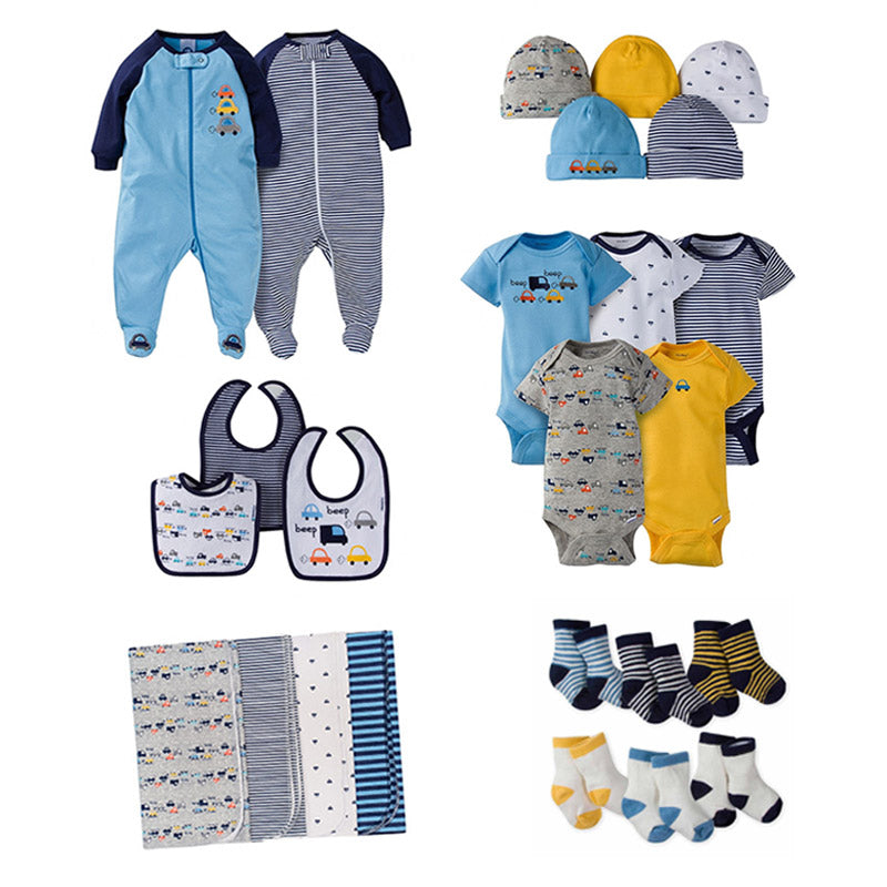 "Gerber Boys 25-pc ""Starter Pack"" Value Bundle, Transportation"