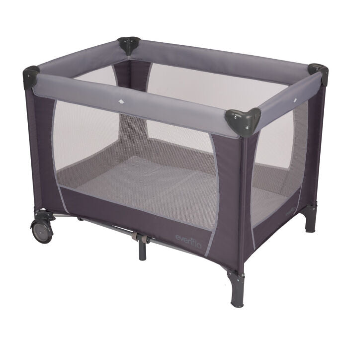 Evenflo Portable BabySuite Playard, Grey