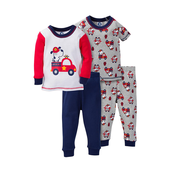 Gerber Boys 4-pc Pajama set, Hero