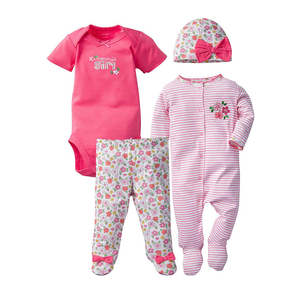 Gerber Girls 4-pc Essentials set, Floral