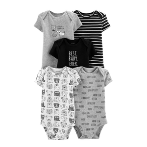 Carter's Boys 5-pk Bodysuit set, Best Baby Ever