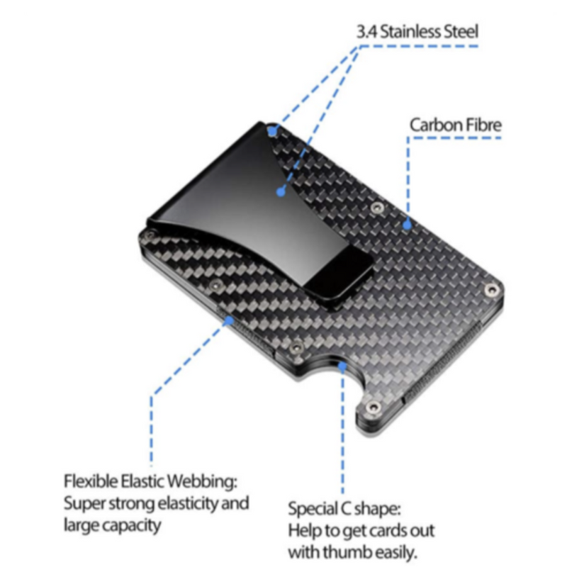 CARBON THIN WALLET