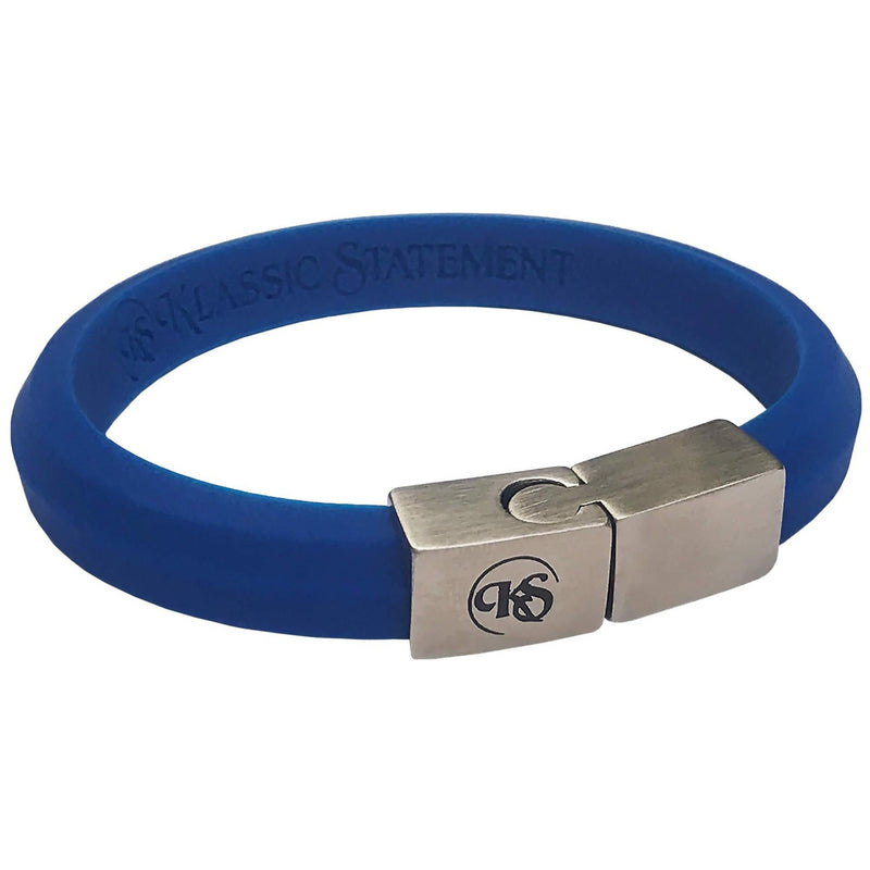 BEVELED RUBBER BRACELET