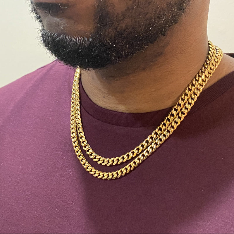 Double Cuban Chain Set