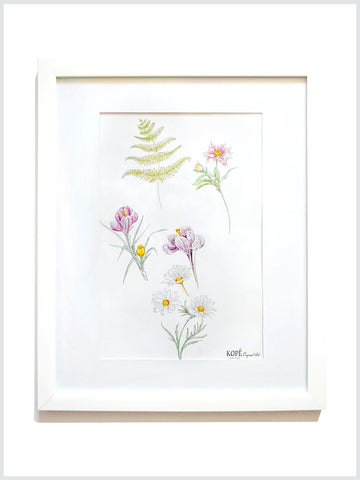 Meadow Flowers : Original Art