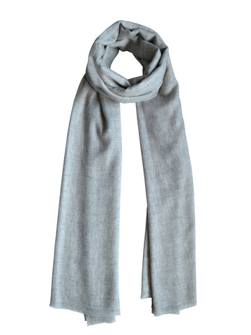 Unisex Cashmere Scarf : Cloud Grey