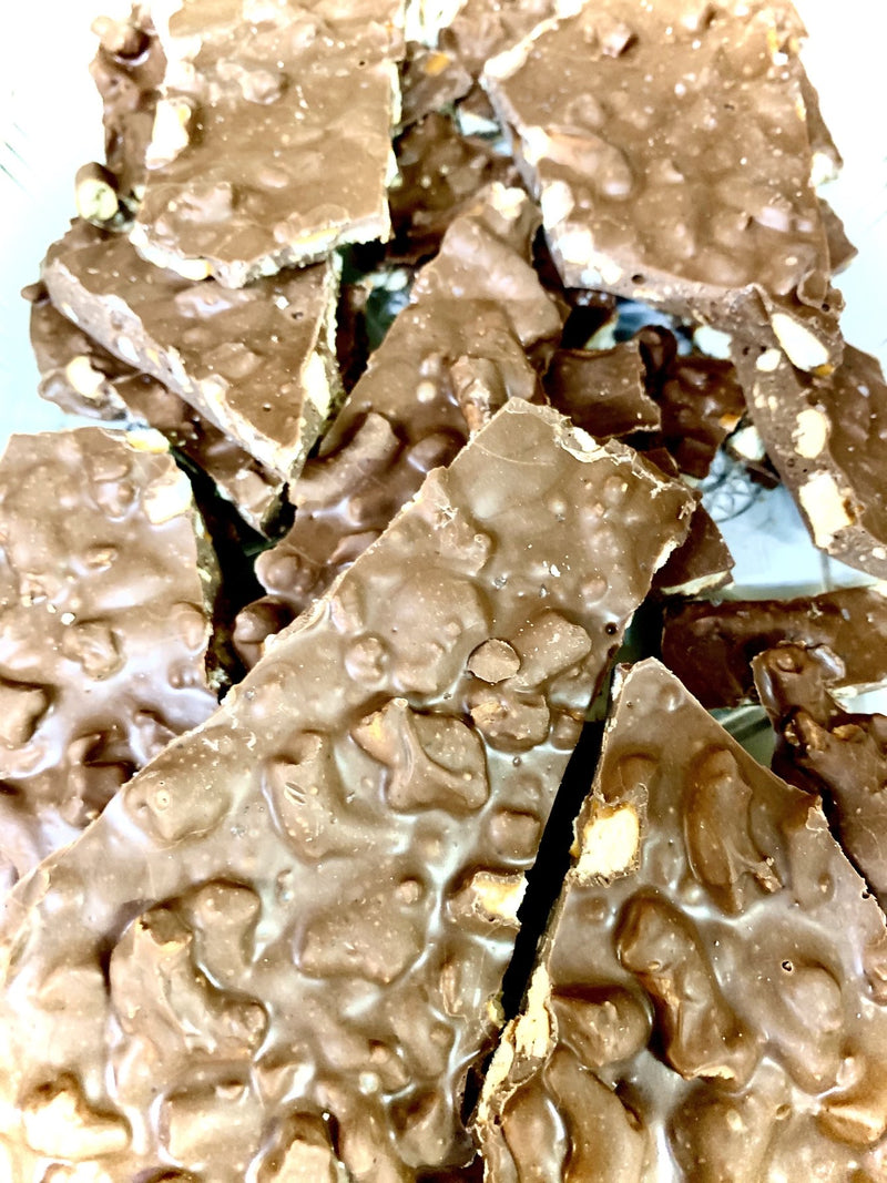 Milk Chocolate Pretzel Bark