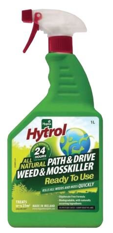 Hygeia All Natural Path and Drive Weed and Moss Killer 1L