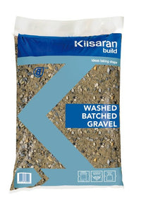 Kilsaran Washed Batched Gravel Standard Bag 40KG