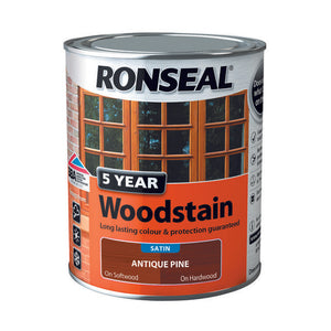 5 Year Woodstain 750ml Antique Pine