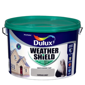 Dulux Weathershield Carraig Grey 10L
