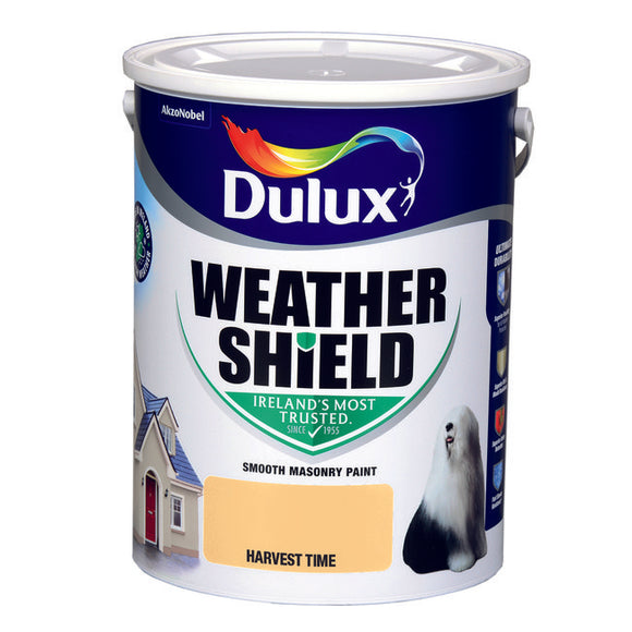 Dulux Weathershield Harvest time 5L