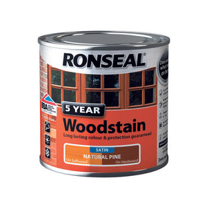 5 Year Woodstain 250ml Natural Pine