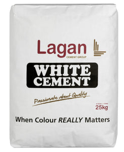Lagan White Cement 25 Kg Bag