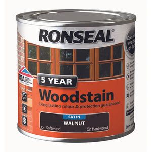5 Year Woodstain 250ml Smoked Walnut