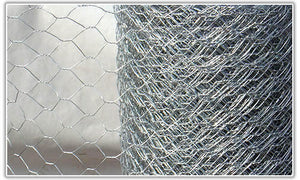 1200mm X 25mm X 10Mtr Hexagonal Wire Mesh Roll