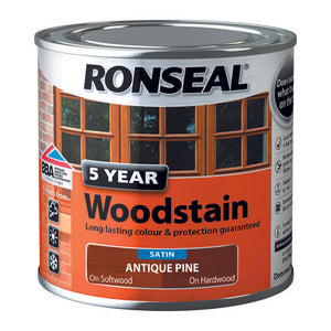 5 Year Woodstain 250ml Antique Pine