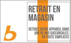 Retrait en Magasin