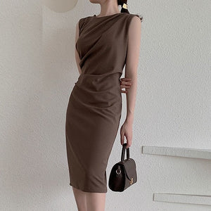 Elegant Ruched Dress
