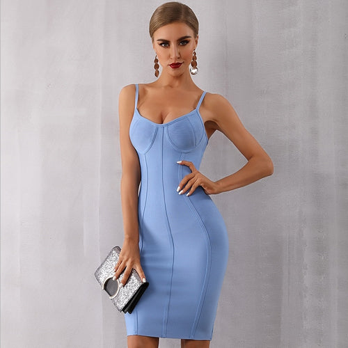 Elegant Bandage Party Dress