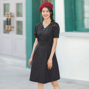Casual French Style Dress