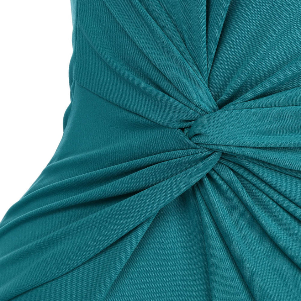 One Shoulder Ruffle Party Dress