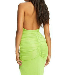 Elegant Split Bodycon Dress