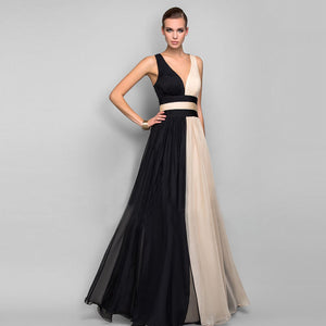 Elegant Chiffon Long Party Dress