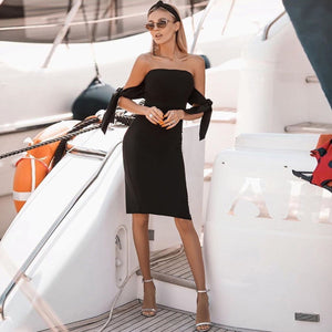 Stylish Off-Shoulder Dress