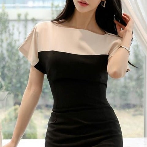Elegant Casual Black Dress