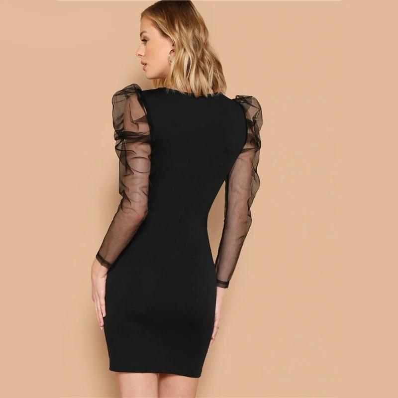 Slim Fit Mini Party Dress