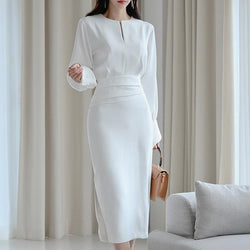 Elegant White Party Dress
