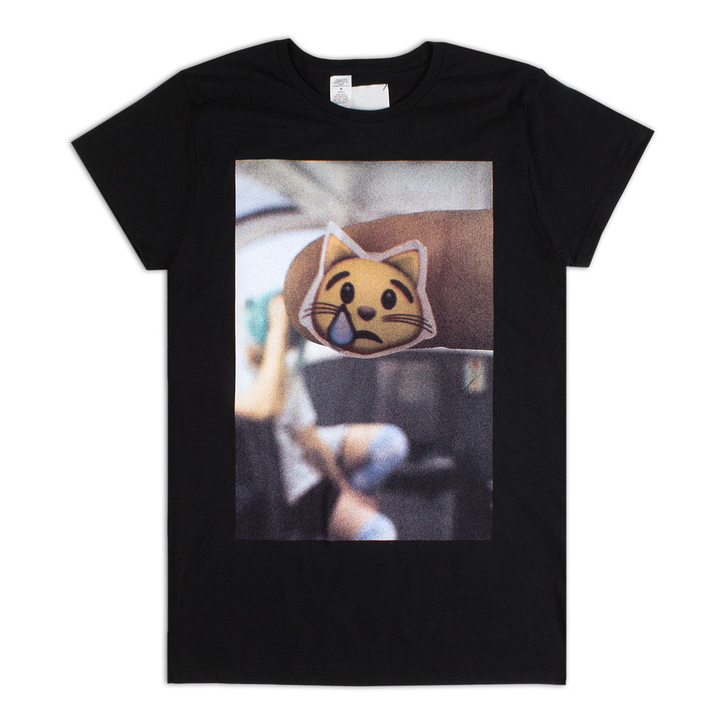 'Sad Cat Emoji' T-Shirt / Unisex